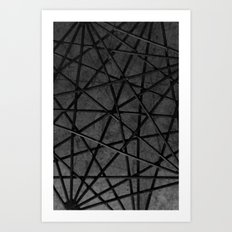 Abstract Structures 1 Art Print