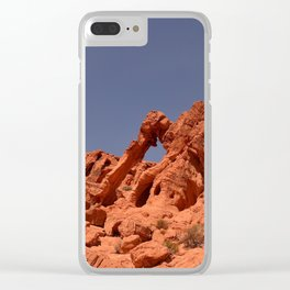 Elephant Rock, Valley of Fire Clear iPhone Case