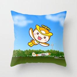 Tokoron in kouku Throw Pillow