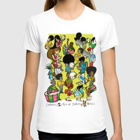 rio T-shirts featuring CARNAVAL RIO by Valter Brum