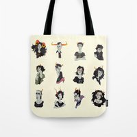 homestuck Tote Bags featuring Horostuck by Naïs Quin
