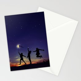 Friendship is the greatest adventure of all Stationery Cards