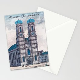 München Frauenkirche Stationery Cards