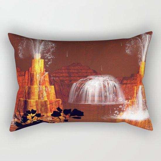 Waterfalls Rectangular Pillow