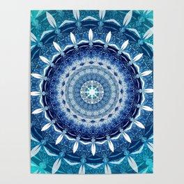 Absolute Zero Mandala Poster