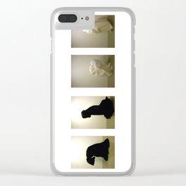 B&W Clear iPhone Case