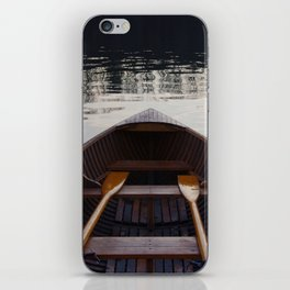 No where to row iPhone Skin
