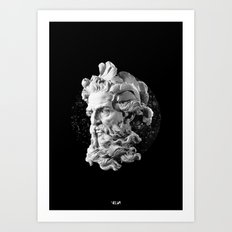 Sculpture Head II Art Print