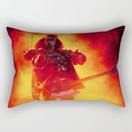 The Demon Rises Rectangular Pillow