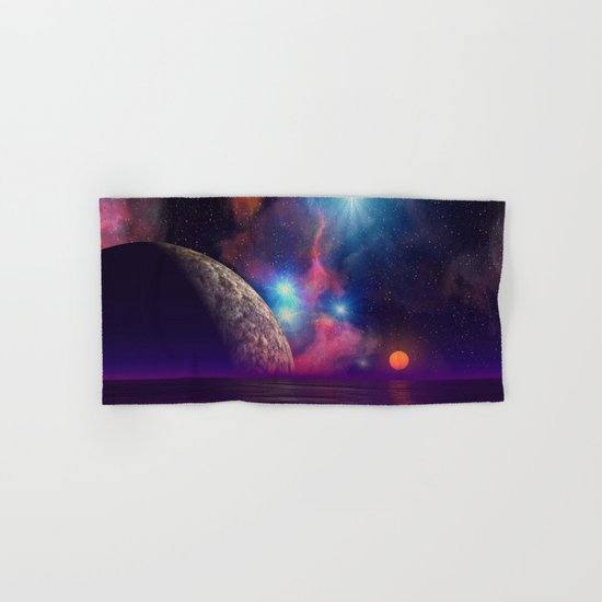 Stars and planets Hand & Bath Towel