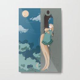 Rapunzel~ Metal Print