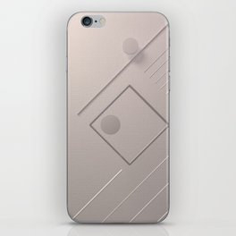 The basic shapes iPhone Skin