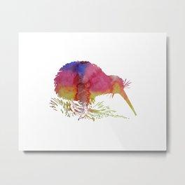 Kiwi Metal Print