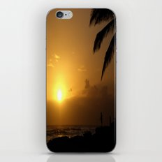 hawaii Sunset Series B iPhone & iPod Skin