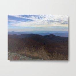 Fall Cliffs Metal Print
