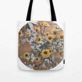 Flowers (yellow/white)  Tote Bag