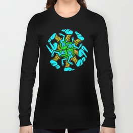 Round and Round She Goes Long Sleeve T-shirt