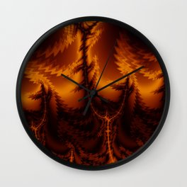 Hellbent Wall Clock