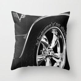 Drive safe Throw Pillow