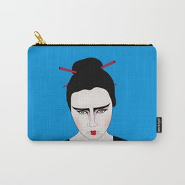 Grumpy Geisha // Japanese Style Carry-All Pouch