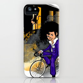 The Purple Kid iPhone Case