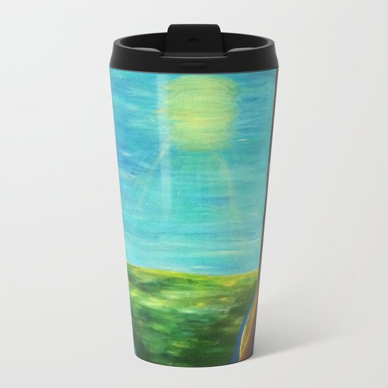 Magical Forest Metal Travel Mug