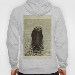 Otter in Love Hoody