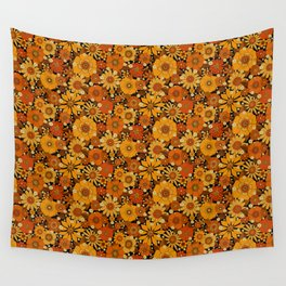Come and get your love - orange Wall Tapestry