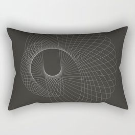toroid.ii Rectangular Pillow