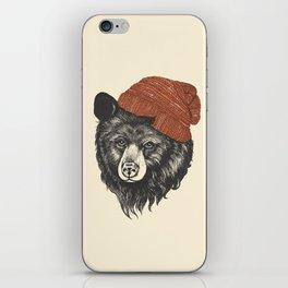 the bear iPhone Skin