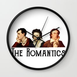 The Romantics Wall Clock
