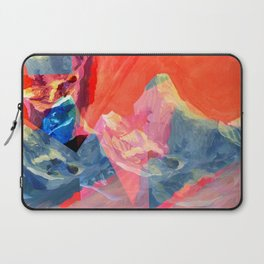 Abstract Mt. Everest Laptop Sleeve