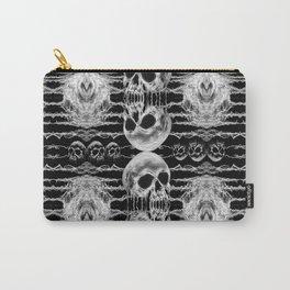 Freak Skull Pattern Carry-All Pouch