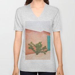 Strong Desert Cactus Unisex V-Neck