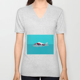 Japanese Fish Unisex V-Neck