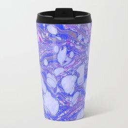 Violet Marbling Travel Mug