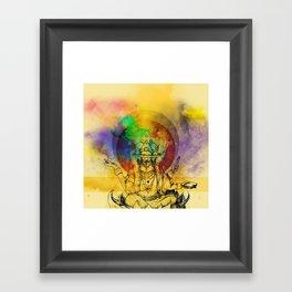 Brahma dream Framed Art Print