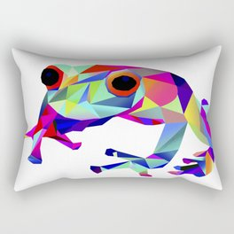 Freddy Frog Rectangular Pillow