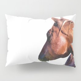 Horse Portrait Pillow Sham