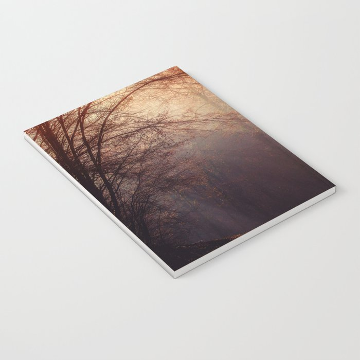 fall forest Notebook