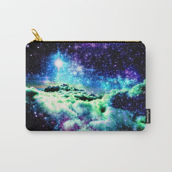 Galaxy Clouds Carry-All Pouch