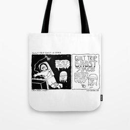 Guilt Trip Ghost in Space Tote Bag