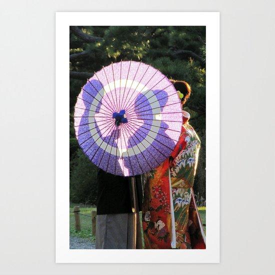 Tokyo Mon Amour Art Print
