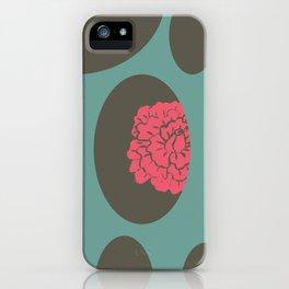 peeping roses By Danae Anastasiou iPhone Case