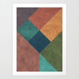 Abstract Geometry 2 Art Print