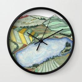 Landscape Print 2 Wall Clock