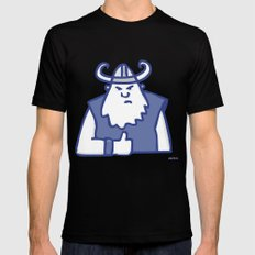 Vike this post X-LARGE Black Mens Fitted Tee