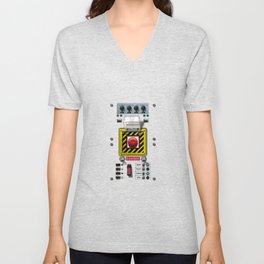 Launch console for nuclear missile Unisex V-Neck