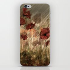 Summer field iPhone & iPod Skin