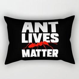 Ant Lives Matter Rectangular Pillow